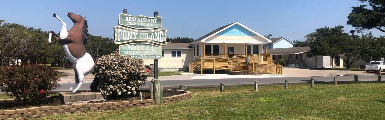 Pony Island Motel office
